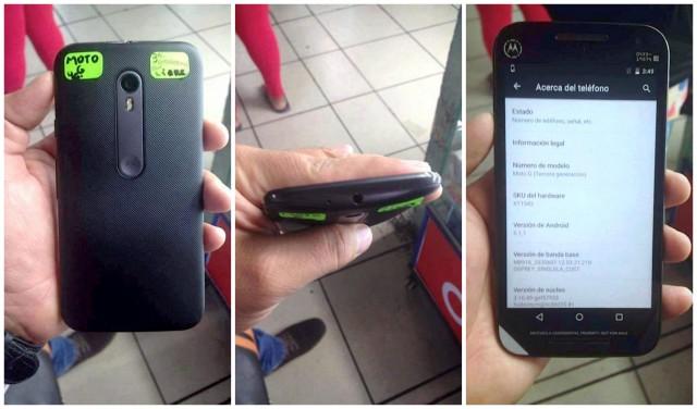 Motorola Moto G 2015 3rd Gen LEAK