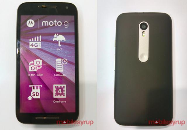 Motorola Moto G 2015 leak