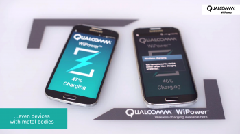 Qualcomm WiPower metal wireless charging