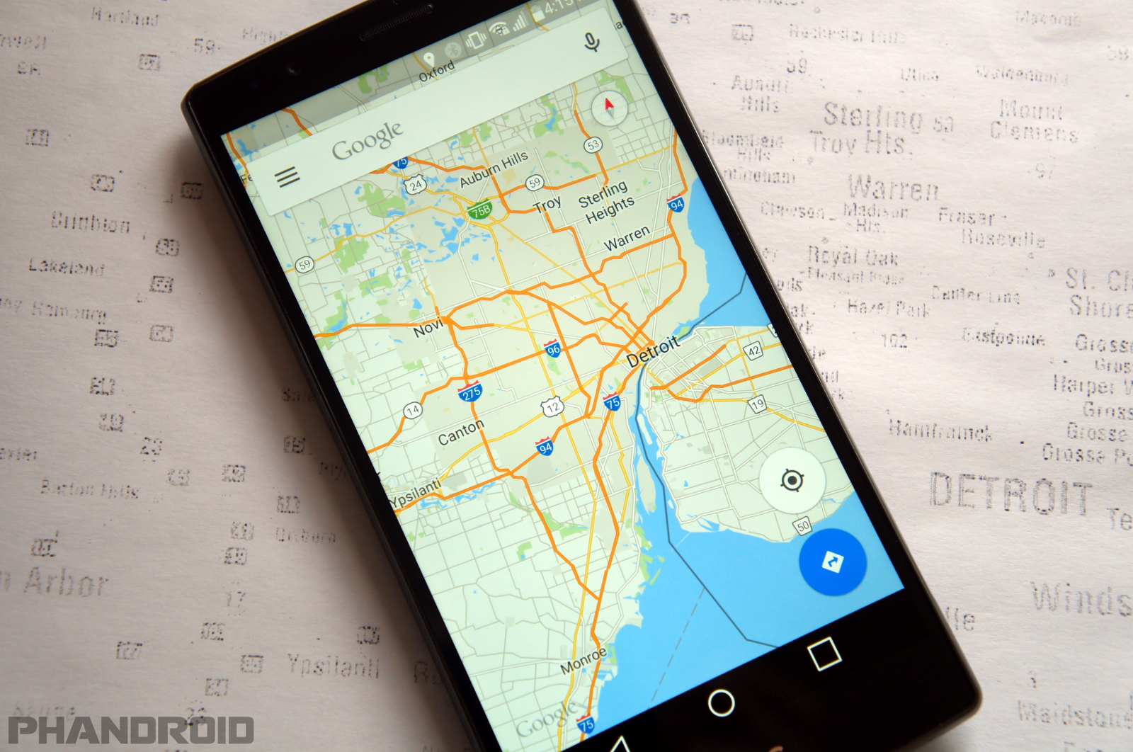Google finally adds offline navigation to Google Maps on google chrome search, google sync android, google maps android icon, city maps 2go android, google docs offline android,