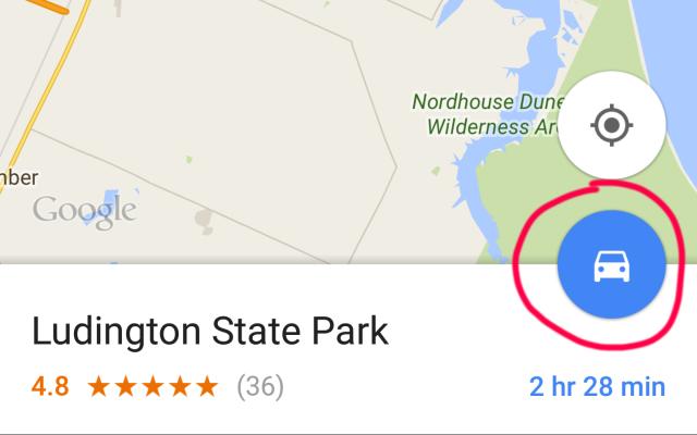 google maps skip