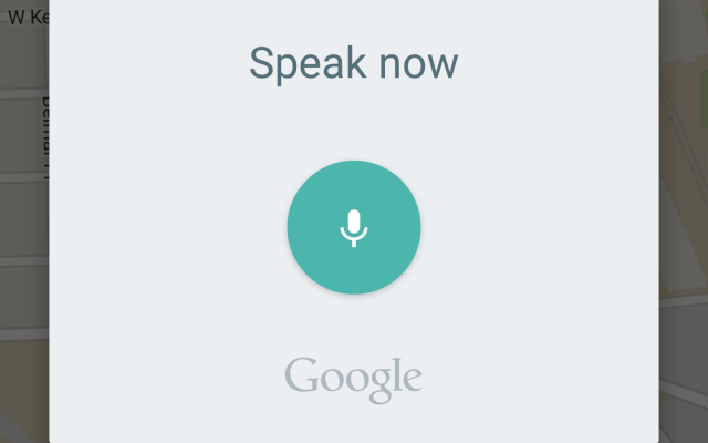 google maps voice