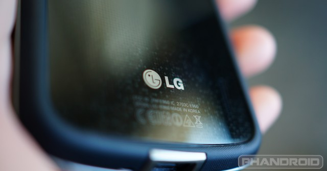 lg back phone logo nexus