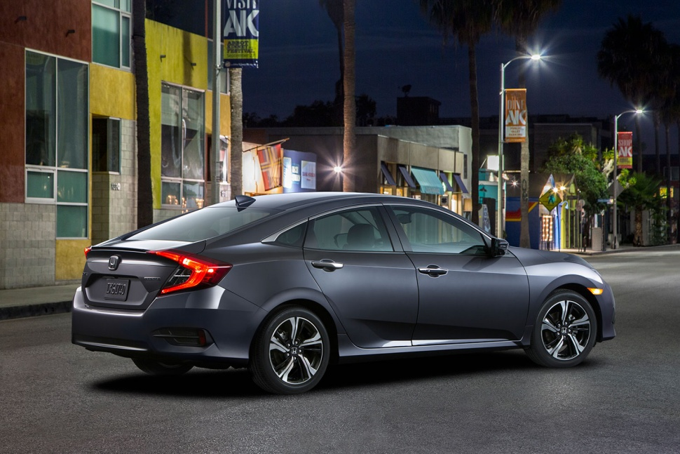 2016 Honda Civic Sedan Back