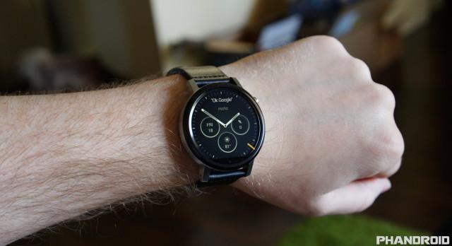 Motorola Moto 360 2nd Gen 2015 DSC09996