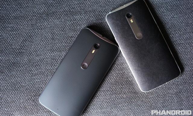 Motorola Moto X Pure Edition Leather Silicone DSC09977