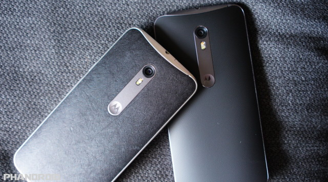 Motorola Moto X Pure Edition Leather Silicone DSC09979
