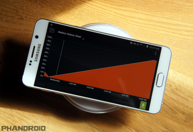 Note 5 wireless charging