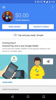 Android Pay Google Wallet