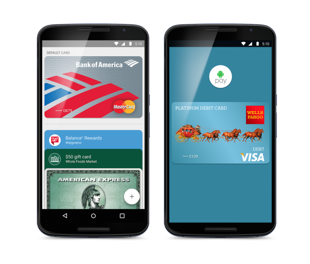 android pay phones