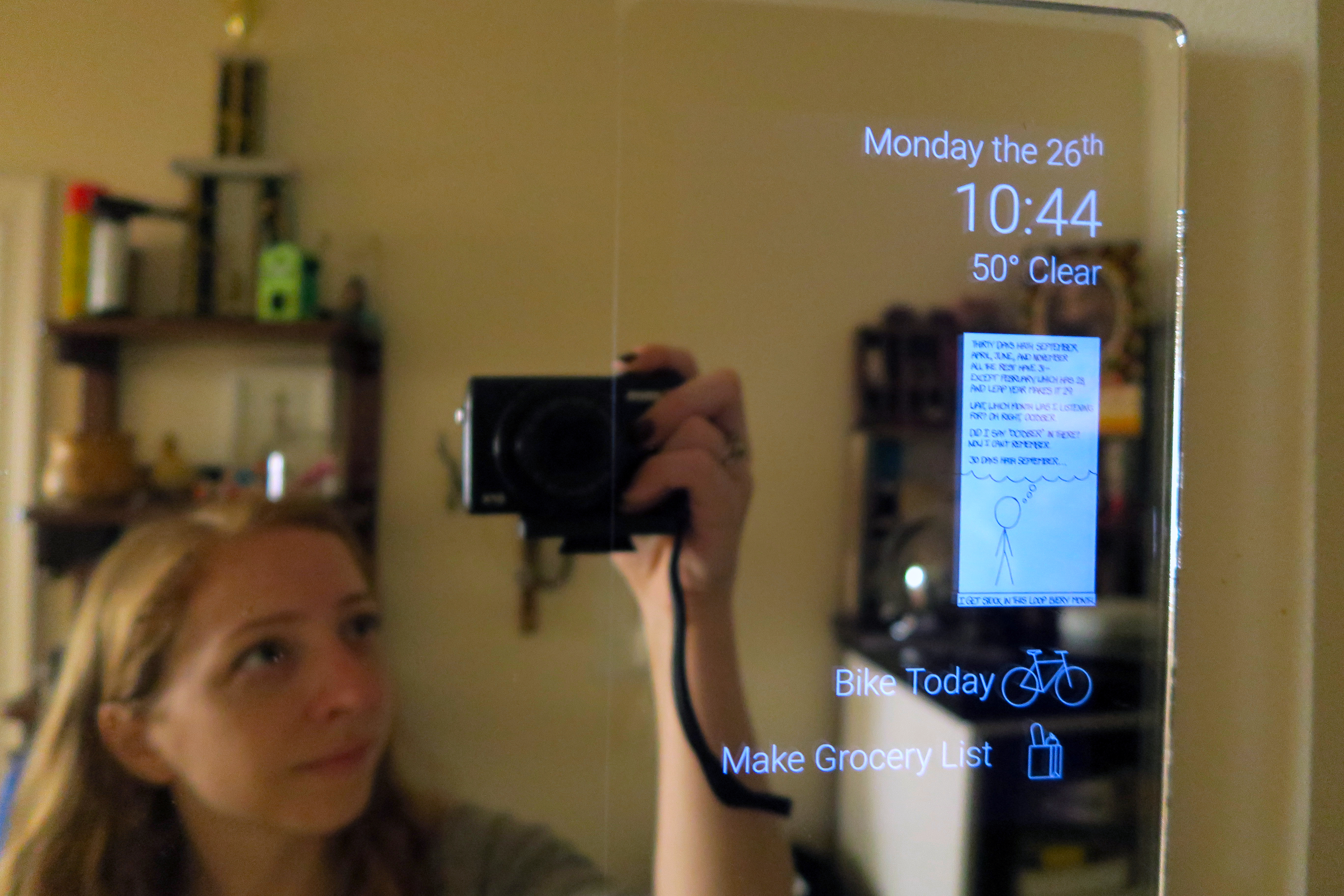 Turning An Old Tablet Into An Android Powered Smart Mirror