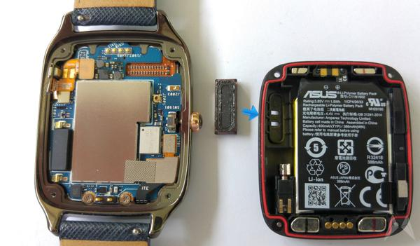 asus zenwatch 2 speaker