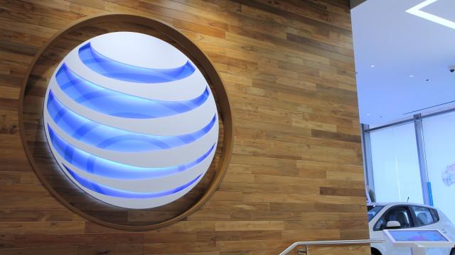 att logo wall