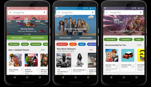 google play store update 2