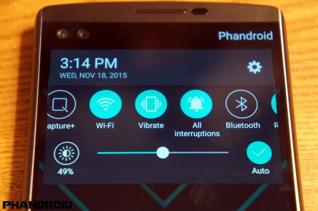 screenshot lg v10