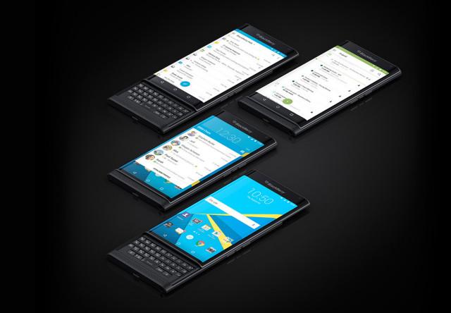 blackberry priv devices