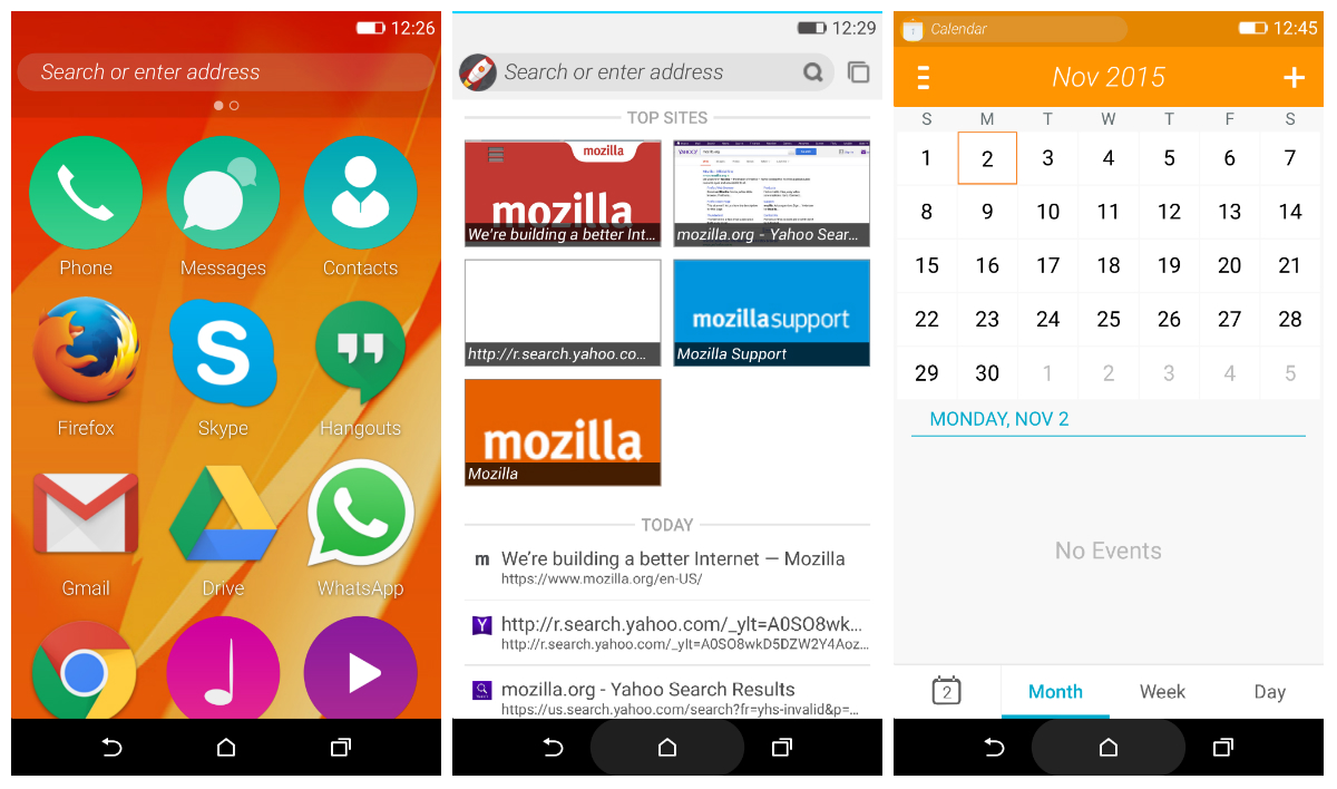 Firefox OS 2 5 can now be previewed as an Android app