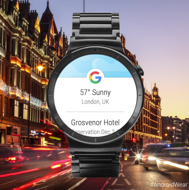 Google Now update Android Wear