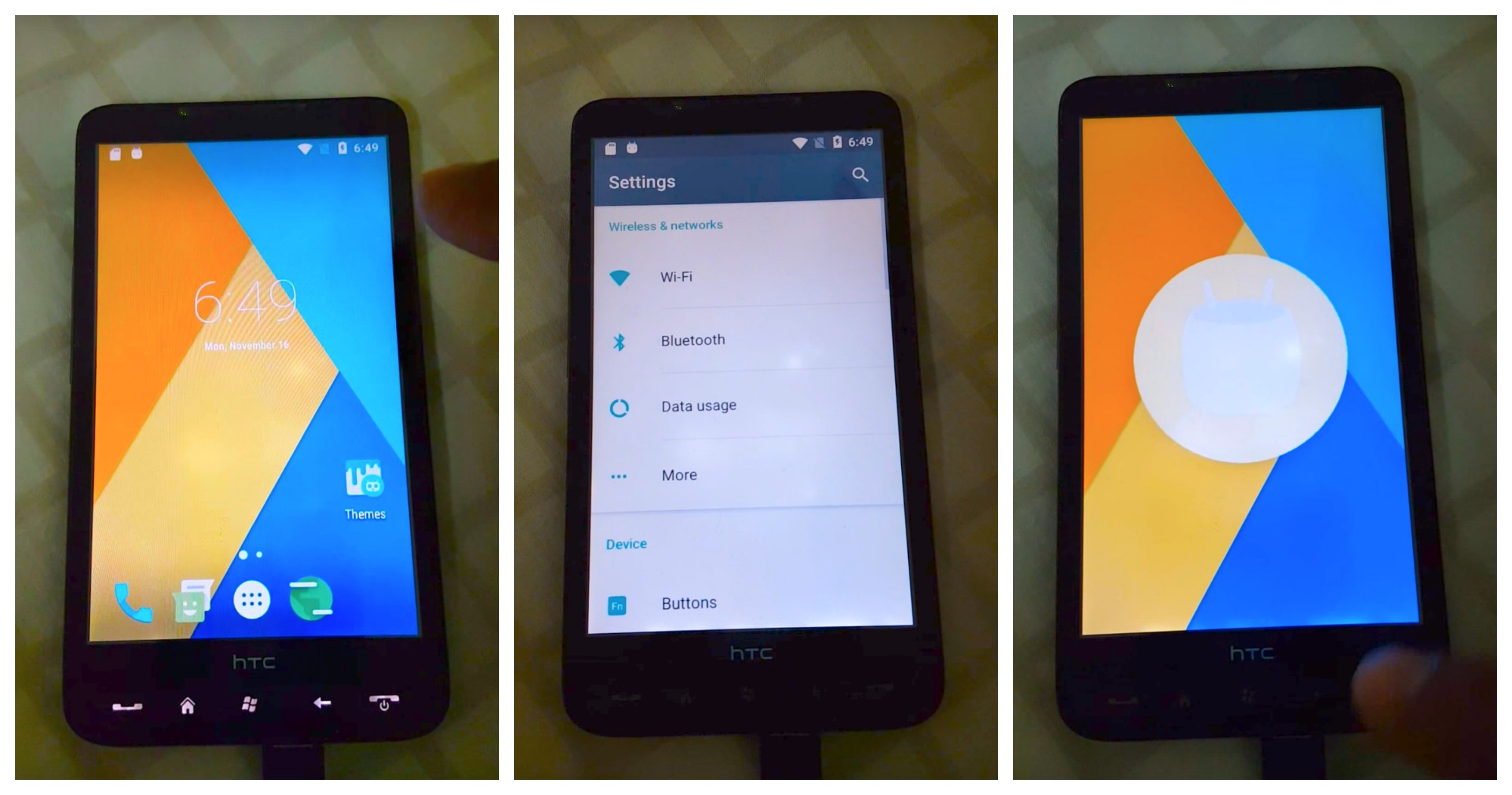 Someone ported Android 6 0 Marshmallow to the HTC HD2 simply