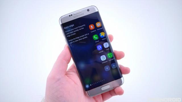 Samsung Galaxy S7 Edge Apps Edge screen features DSC01934