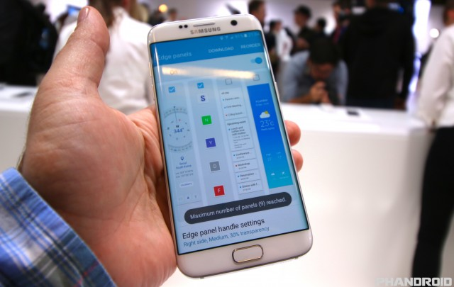 Hands-on with the Samsung Galaxy S7 Edge and its new Edge features [VIDEO]