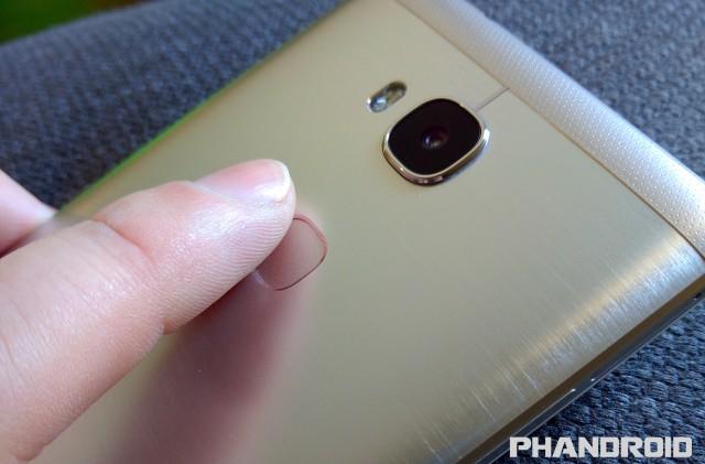 honor 5x fingerprint sensor