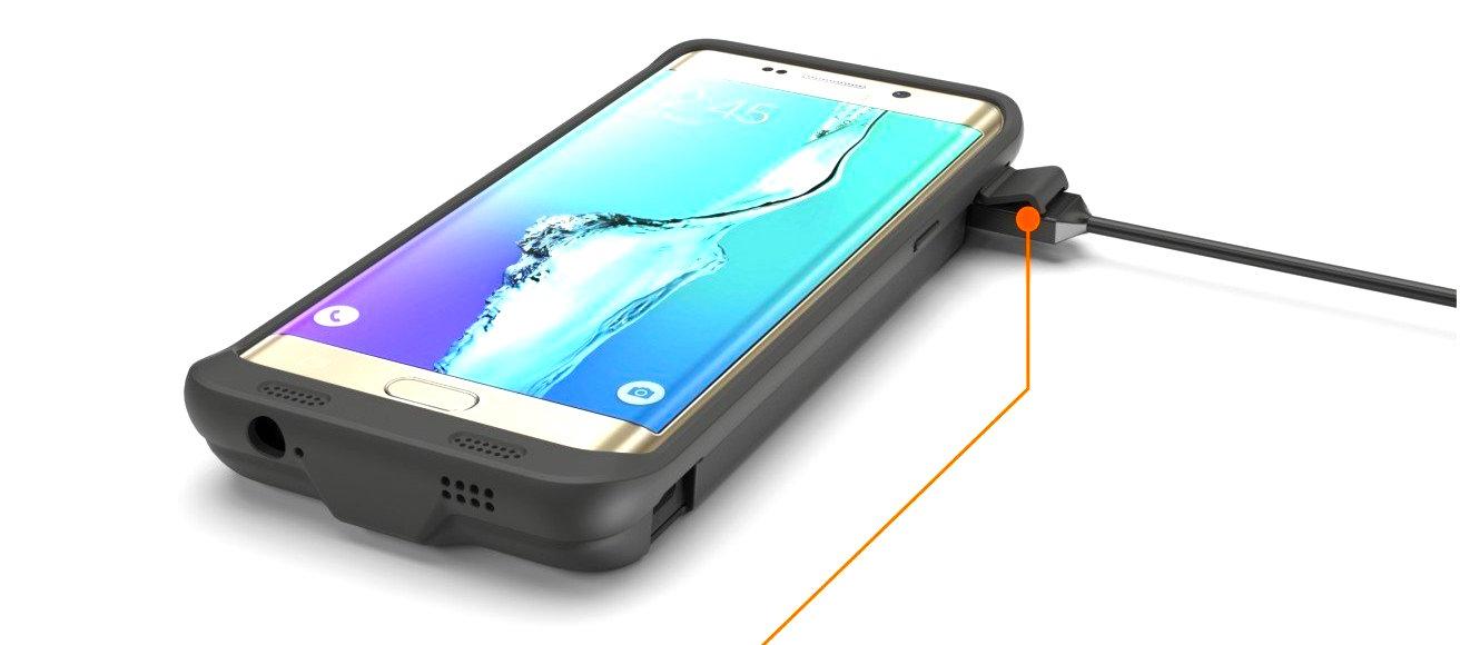 more photos 93b6e bdea2 ZeroLemon 8,500mAh battery case available for Galaxy S6 Edge Plus ...