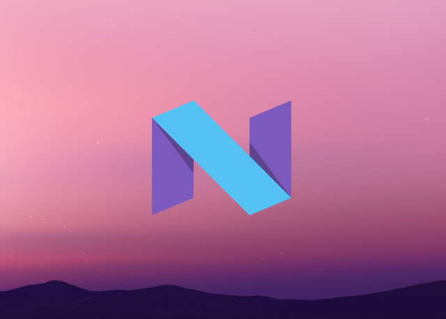 Android N icon