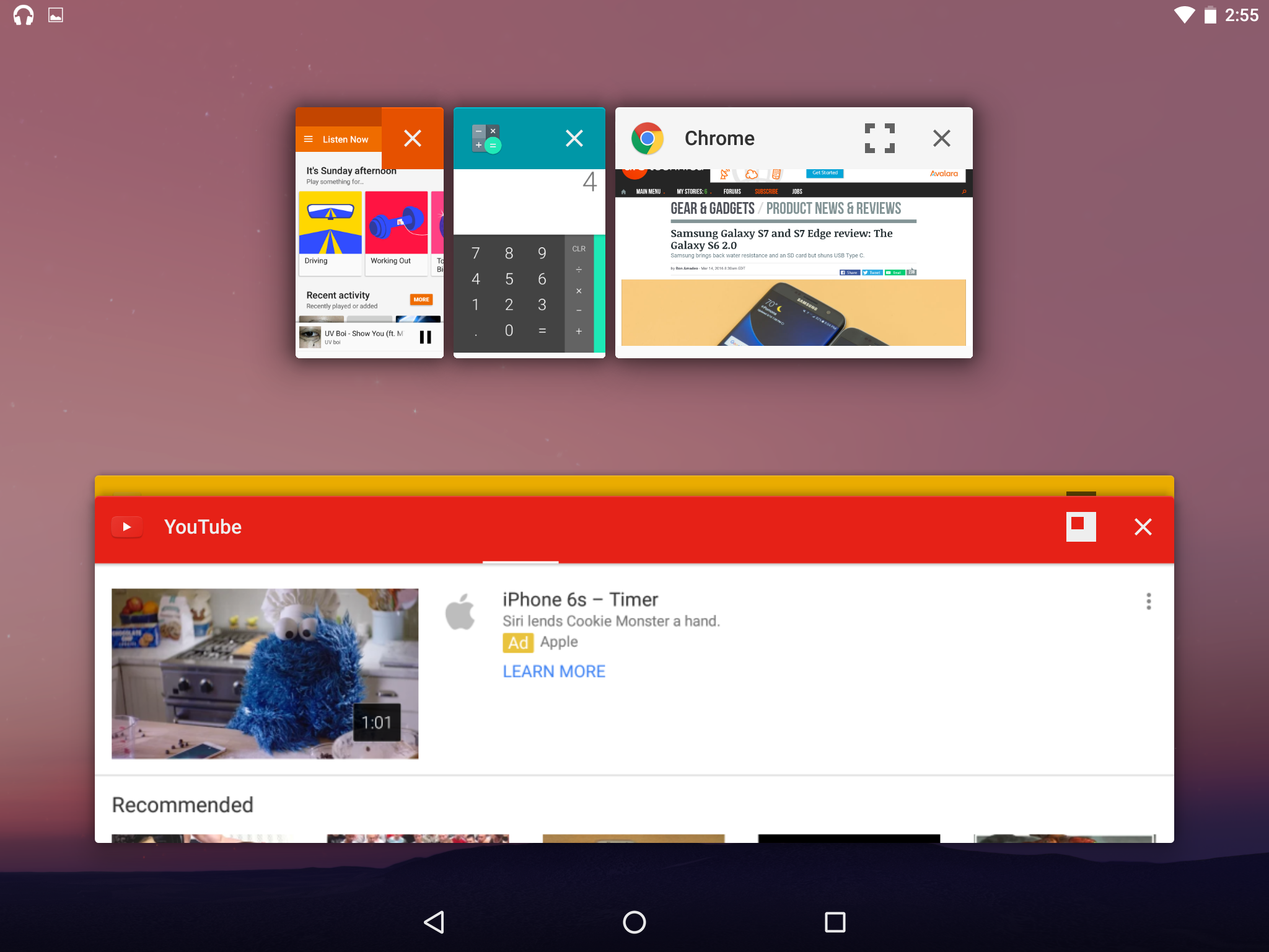 Android N's hidden desktop OS-style window mode revealed