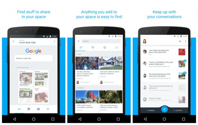 Google Spaces group messaging 2