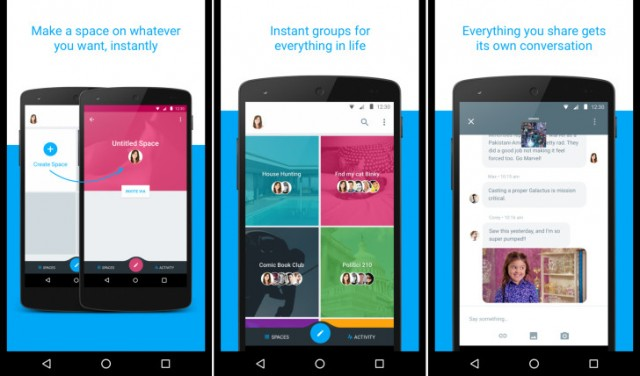 Google Spaces messaging app 1