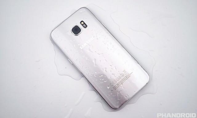 Samsung Galaxy S7 water resistance DSC01928