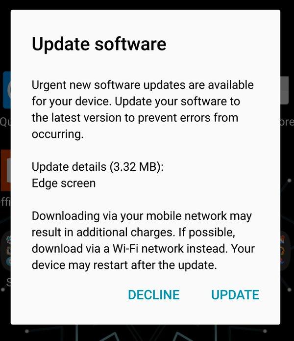 samsung galaxy s6 edge software update download