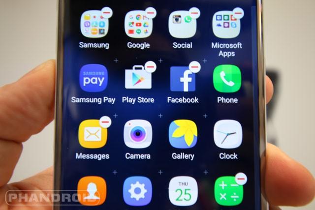 Samsung s7 wallpaper folder