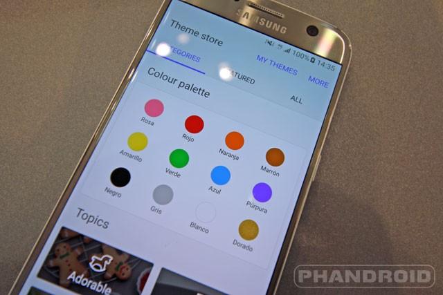 Samsung galaxy s7 edge moving wallpaper