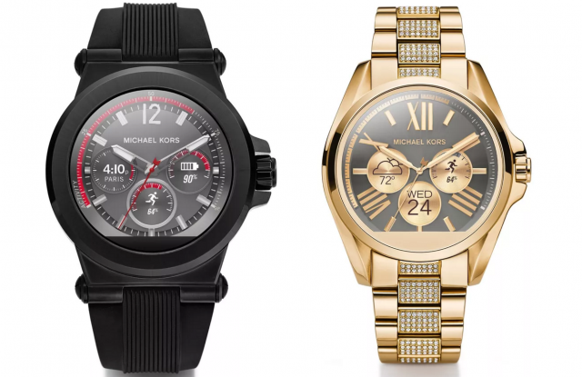 michael kors android wear access smartwatches
