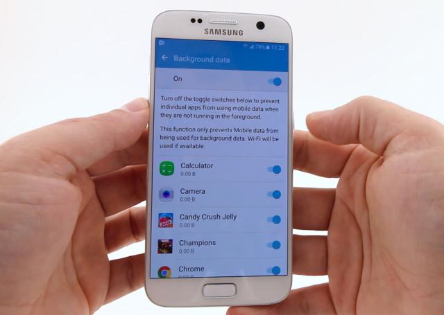 samsung galaxy s7 restrict background data apps