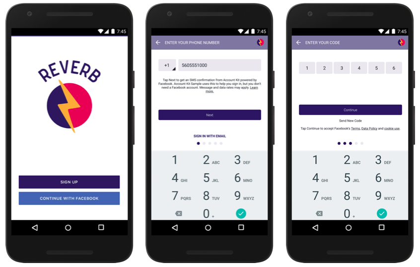 Facebook Account Kit lets users login using phone number only