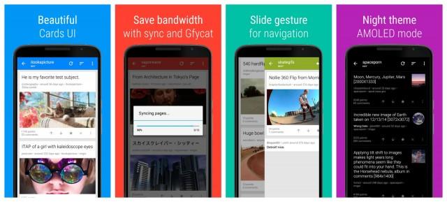 Sync reddit app Android