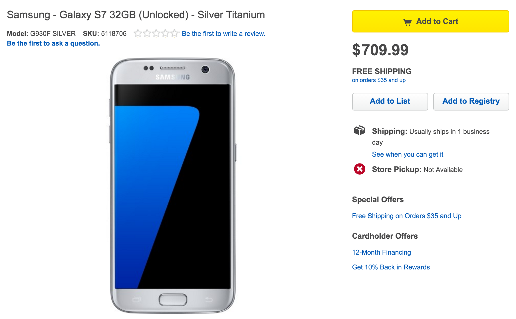 Best Buy Is Now Selling Unlocked Galaxy S7 And S7 Edge Without All The Carrier Bloat Phandroid