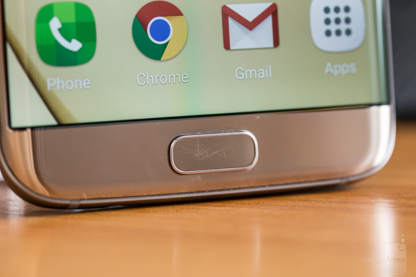 Is Your Samsung Galaxy S7 S Home Button Starting To Scratch Phandroid
