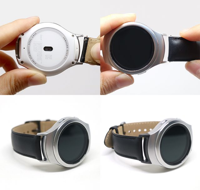 Samsung officially details Gear S2's watch band adapters