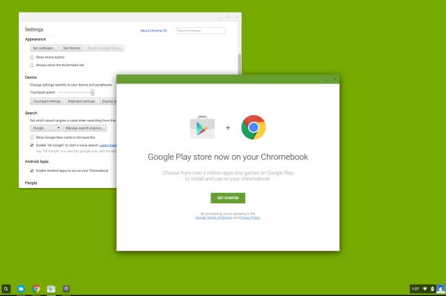 google play chrome os