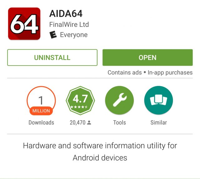 google play contains ads
