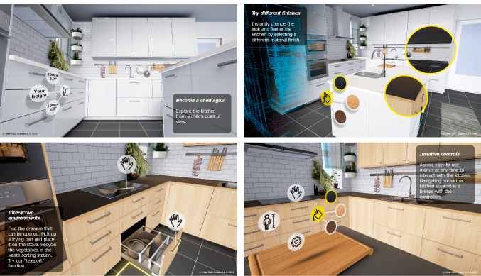 IKEA's new VR app lets you tour kitchens before purchasing