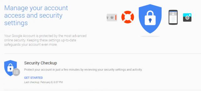 change my google account password