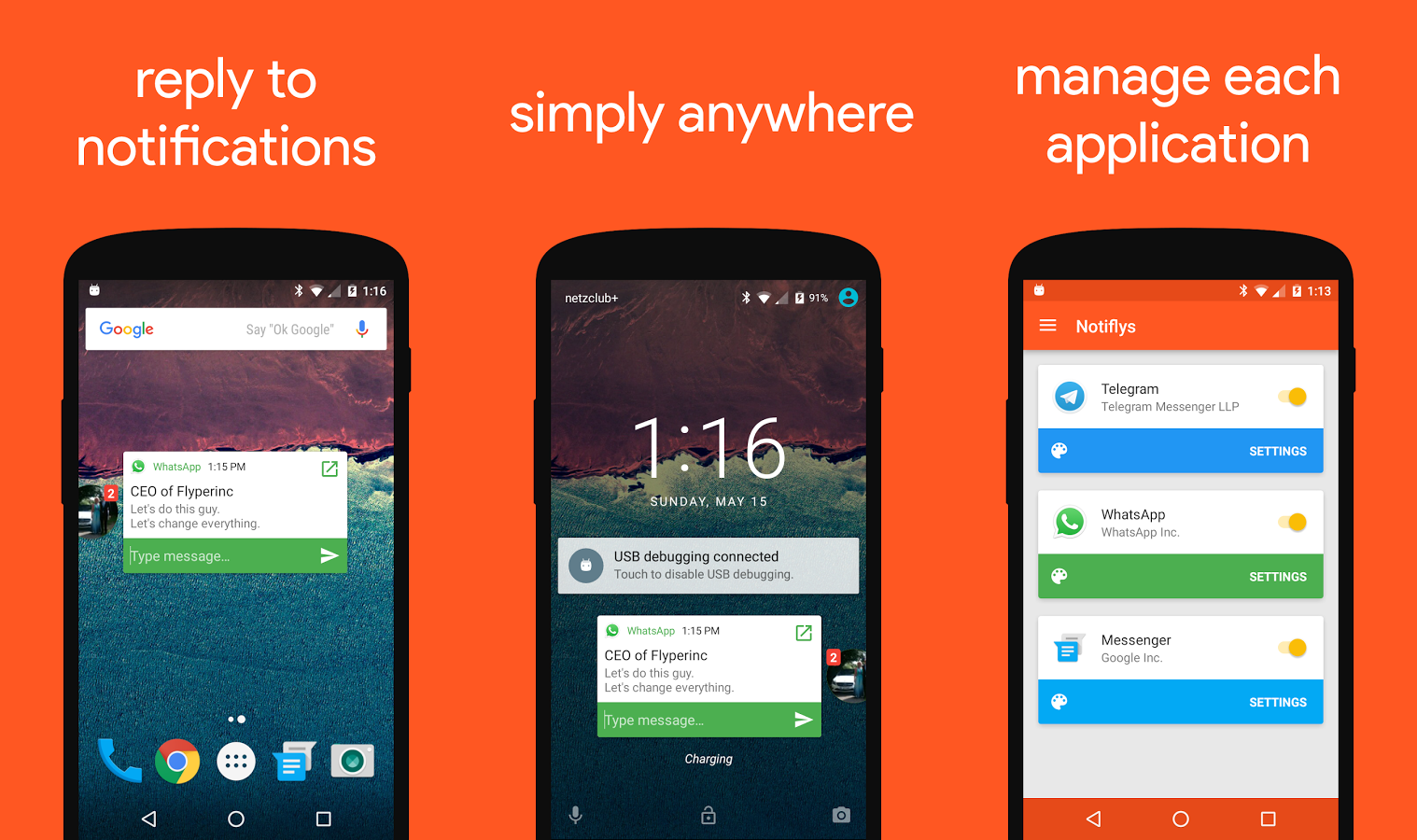Download This: Notifly gives every messaging app a pop-up reply