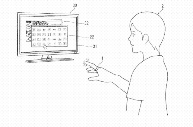 Sony Wearable Input Device Televisions