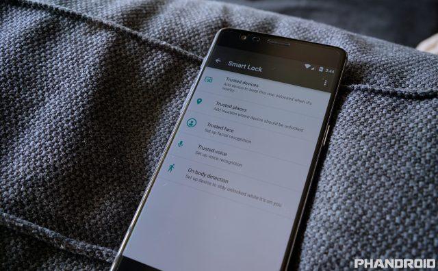 OnePlus 3 Smart Lock DSC00352