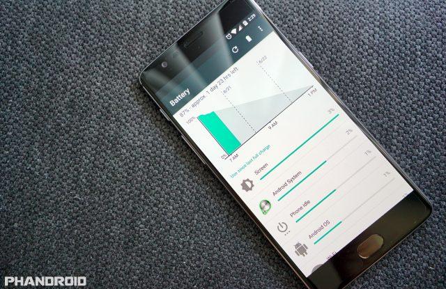 OnePlus 3 battery life DSC00318